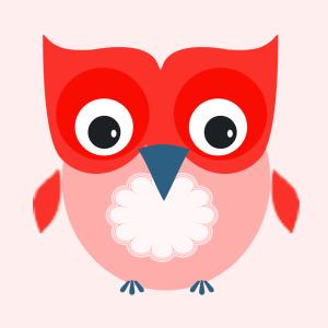 owly redblue