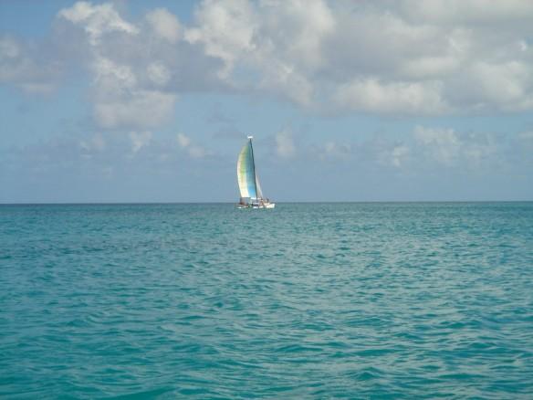 free yacht on sea